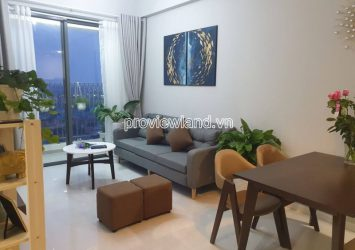 Masteri An Phu apartment for rent in Block B includes 2 bedrooms high floor