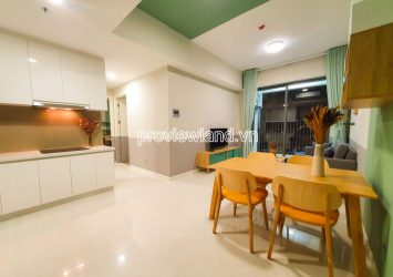 Apartment for rent in Block T1 Masteri An Phu includes 2 bedrooms high floor