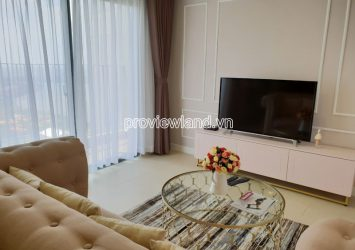 Apartment in Masteri Thao Dien with 2 bedrooms for rent T3 tower