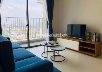 Need for rent high floor apartment 2 bedrooms in Masteri Thao Dien
