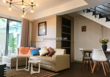 Duplex Masteri Thao Dien for rent 3 bedrooms fully furnished