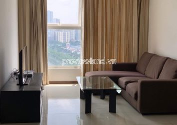 Apartment for rent in Thao Dien Pearl high floor Block A with 2 bedrooms