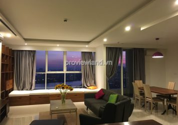 Apartment for rent in Thao Dien Pearl 2BRS District 2 area 136m2 full furnished