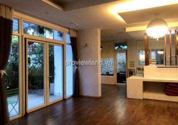 Villa Riviera for rent has an area of 380m2 1 ground 2 floor 5 bedrooms