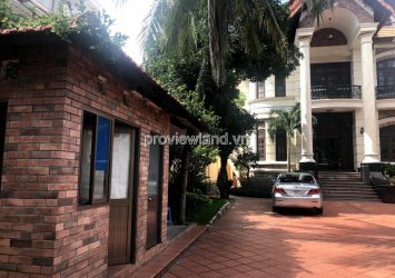 Villa for rent Nguyen U Di Thao Dien 1000m2 1 basement 3 floors garden pool