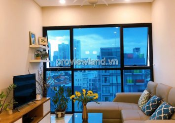 Apartment with 2 bedrooms for rent on low floor The Ascent Thao Dien