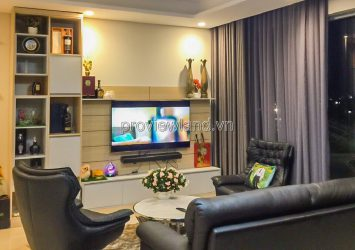 Diamond Island apartment for rent with 4BRs river view fully furnished