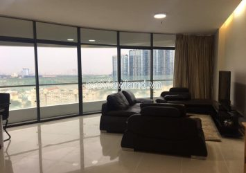 City Garden apartment with 3 bedrooms in Binh Thanh for rent high floor