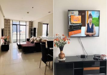 City Garden apartment for rent with 3 bedrooms fully furnished
