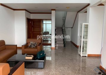 Penthouse apartment for rent in Hoang Anh Riverview with 4 bedrooms 2 floors