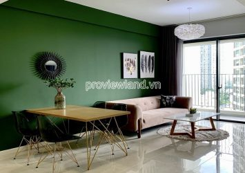 Masteri An Phu apartment with 2 bedrooms for rent in middle floor Block A