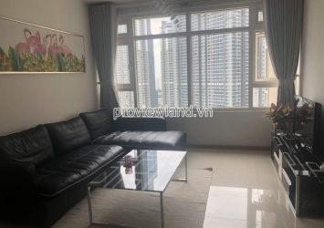 Apartment for rent in Block Topaz 1 Saigon Pearl with 2 bedrooms high floor