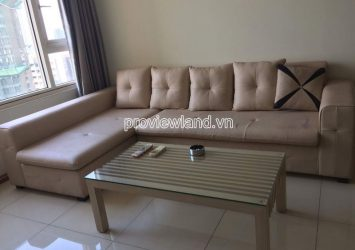 Apartment in Saigon Pearl with 2 bedrooms high floor for rent very nice view