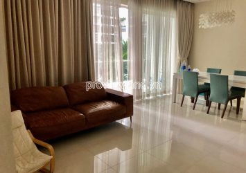 The Estella An Phu for rent low-floor apartment with 2 bedrooms swimming pool view