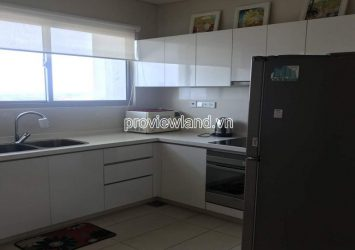 The Vista apartment for rent with 2 bedrooms river view low floor at Block T3