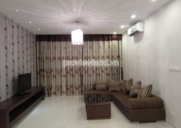 Apartment for rent in high floor Block T2 The Vista with 3 bedrooms nice view