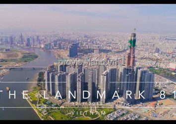 Selling apartments at Landmark 81 building Vinhomes Central Park project area 78m2 2Brs