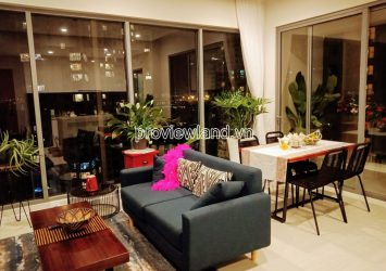 Apartments in Diamond Island block Canary for rent with 2 bedrooms river view