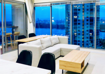 Apartment in Diamond Island Canary tower for rent with 2 bedrooms river view