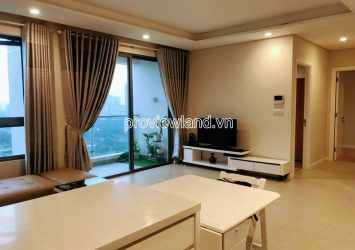 River view apartment high floor with 2 bedrooms at Diamond Island for rent