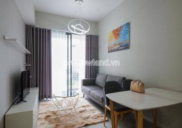 Masteri An Phu apartment for rent includes 2 bedrooms with high-end furniture