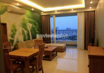 Apartment with view swimming pool in Thao Dien Pearl for rent high floor 2 bedrooms