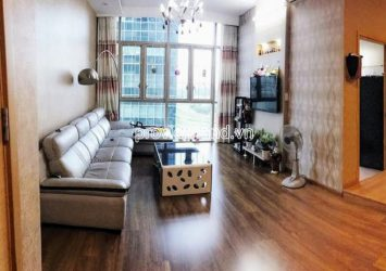 Apartment for rent with 2 bedrooms at The Vista An Phu swimming pool view