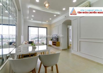 Apartment with 2 bedrooms full furnished in Masteri Thao Dien for rent