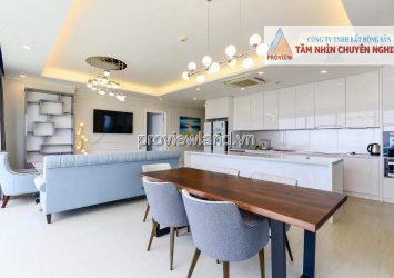 Diamond Island apartment for rent 3 bedrooms high floor Bora tower