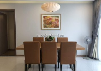 Vinhomes Central Park apartment for rent with 3 bedrooms 140m2 high floor
