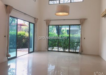 Villa Riviera District 2 for rent with an area of 287m2 2 floors of basic furniture