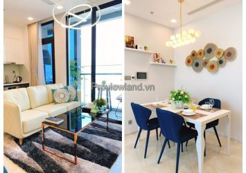 Beautifully designed luxury apartment at Vinhomes Golden River for rent 2 bedrooms
