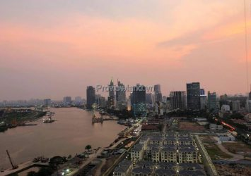 Vinhomes Golden River apartment for rent with 2 bedrooms fully furnished nice river view