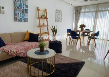 Apartment with 2 bedrooms for rent high floor Boulevard City Garden Binh Thanh