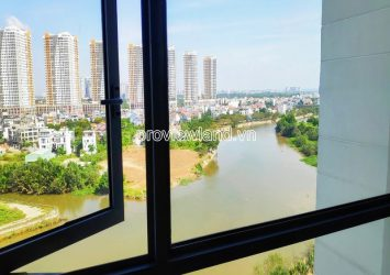 The middle floor apartment for sale in Diamond Island Canary tower with nice river view