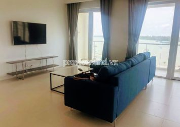 Brilliant Diamond Island apartment for rent low floor high class river view
