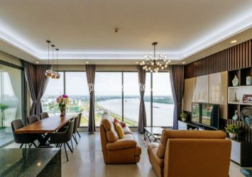 River view apartment at Bora-Bora Diamond Island for rent good price 3 bedrooms middle floor