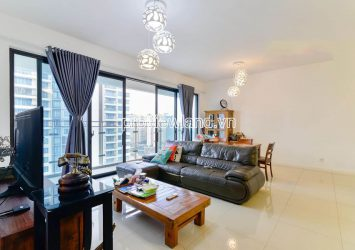 Luxury apartment for rent in Estella Heights high floor T1 tower with 3 bedrooms