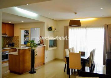 High-class apartment for rent with 3 bedrooms at River Garden river view