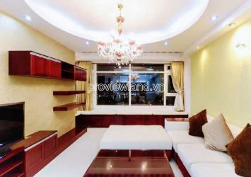 High-floor luxury apartment in Saigon Pearl Ruby2 tower for sale includes 3 bedrooms