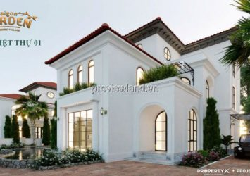 Selling villa Saigon Garden Riverside in District 9 area 24x43m