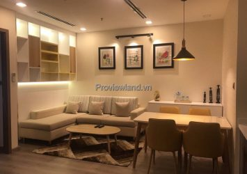 Park 1 serviced apartment for sale with 1 bedroom in Vinhomes Central Park with river view