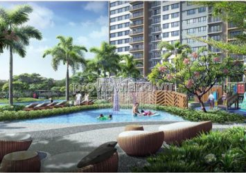 Selling 3BRs Palm Heights apartment in District 2 with area of 121m2