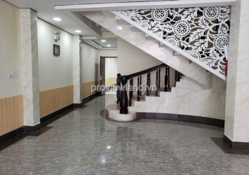 Office building for rent in Binh Thanh District 200m2 1 ground 4 floors terrace