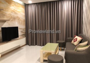 Vinhomes Central Park apartment for rent high floor 2 bedrooms full furnished