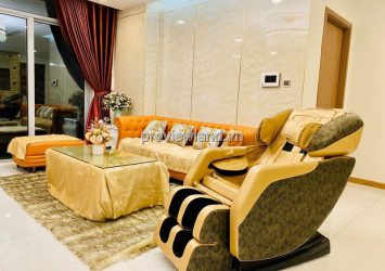Vinhomes Tang Cang 4BRs luxury apartment for rent has 187m2 high floor