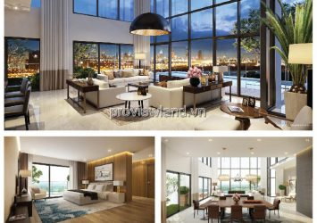 Duplex Gateway Thao Dien apartment for rent with area 218m2 4 bedrooms