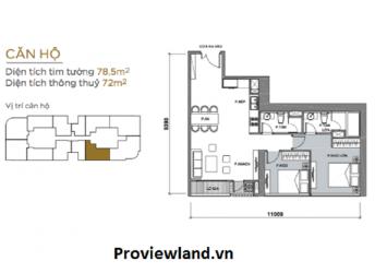 Vinhomes Golden River high floor 2 bedrooms full furnished for rent