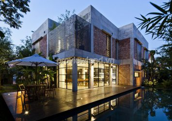 Villa for sale in compound Thao Dien area 780sqm 4 bedrooms 7 bathrooms