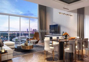 Thao Dien D'edge sells low-floor 3-bedroom apartments